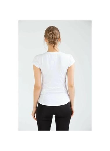 Umbro Flaty Vf-0015 Fusya Kadın Tişört Beyaz